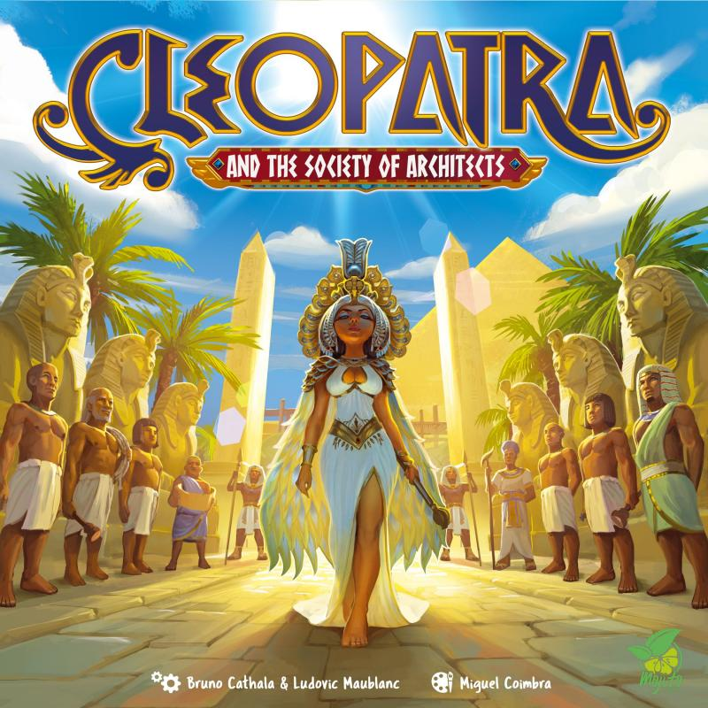 настольная игра Cleopatra and the Society of Architects: Deluxe Edition Клеопатра и Общество Архитекторов: Deluxe Edition