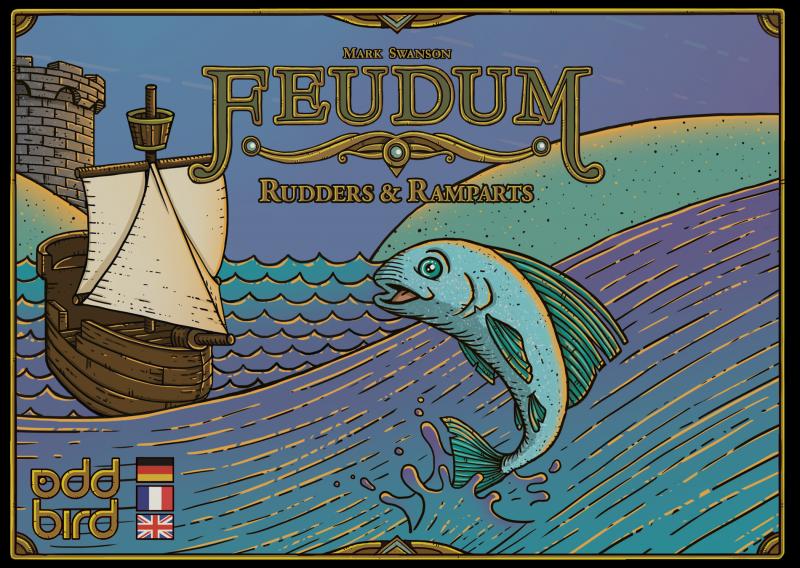 настольная игра Feudum: Rudders & Ramparts Feudum: рули и валы