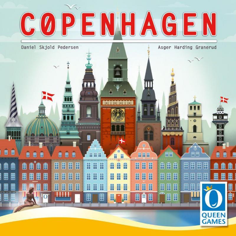 настольная игра Copenhagen Копенгаген