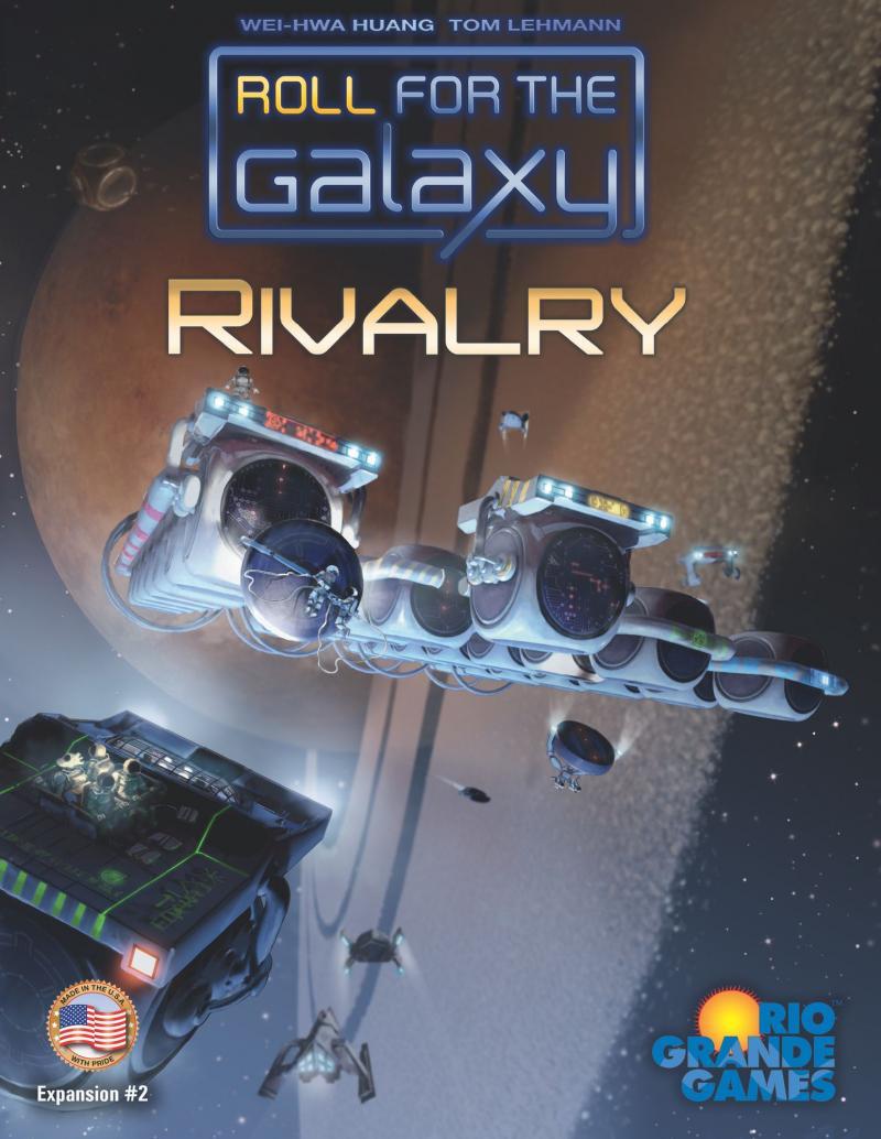 настольная игра Roll for the Galaxy: Rivalry Ролл за галактику: соперничество
