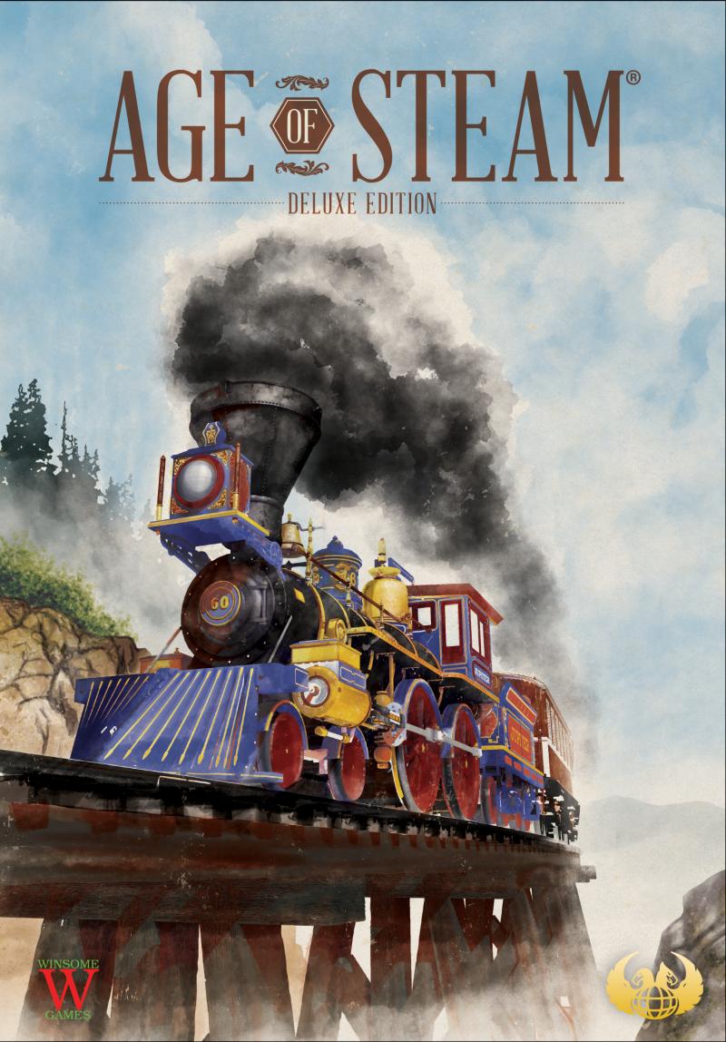 настольная игра Age of Steam Возраст Steam