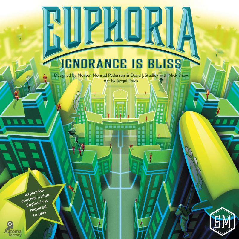 настольная игра Euphoria: Ignorance Is Bliss Эйфория: невежество - это счастье