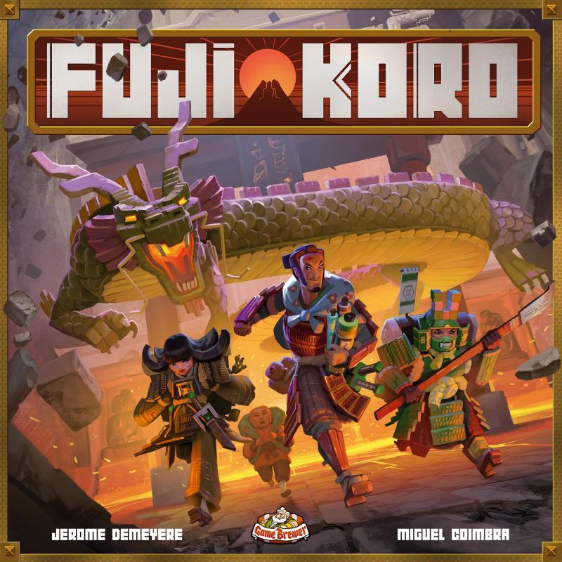 настольная игра Fuji Koro Фуджи Коро
