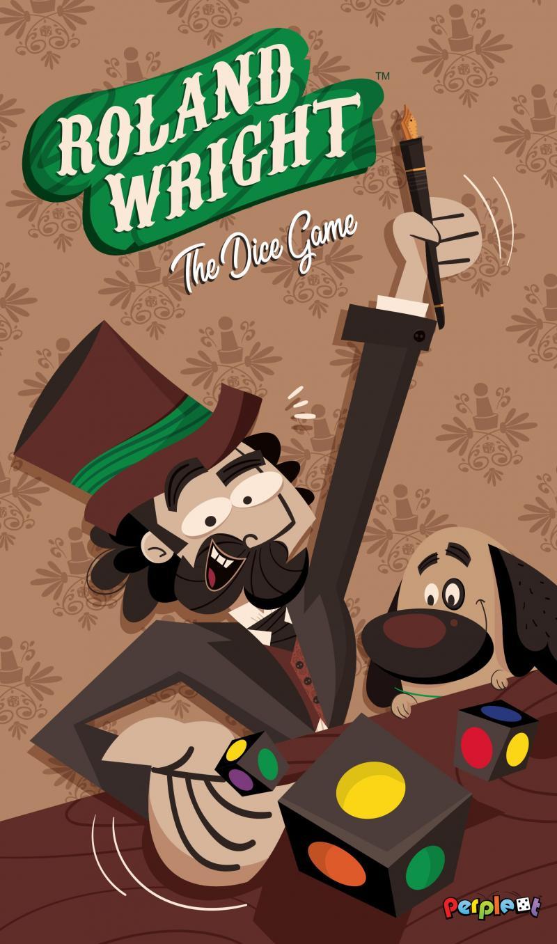настольная игра Roland Wright: The Dice Game Роланд Райт: Игра в кости