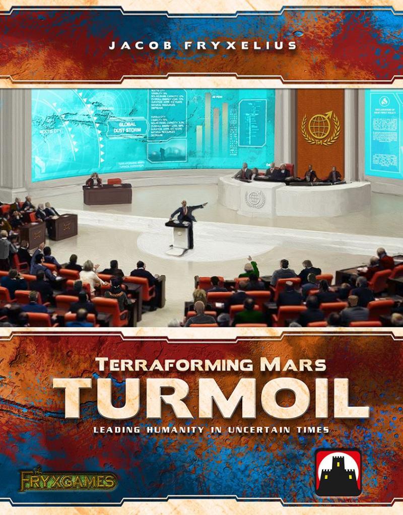 настольная игра Terraforming Mars: Turmoil Терраформирование Марса: беспорядки