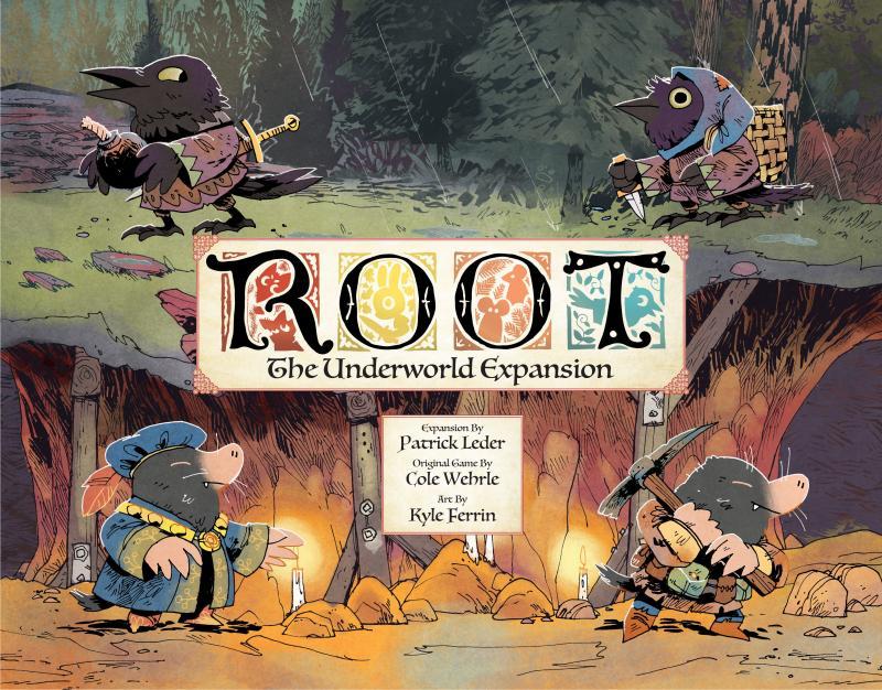 настольная игра Root: The Underworld Expansion Корень: Расширение Подземного Мира