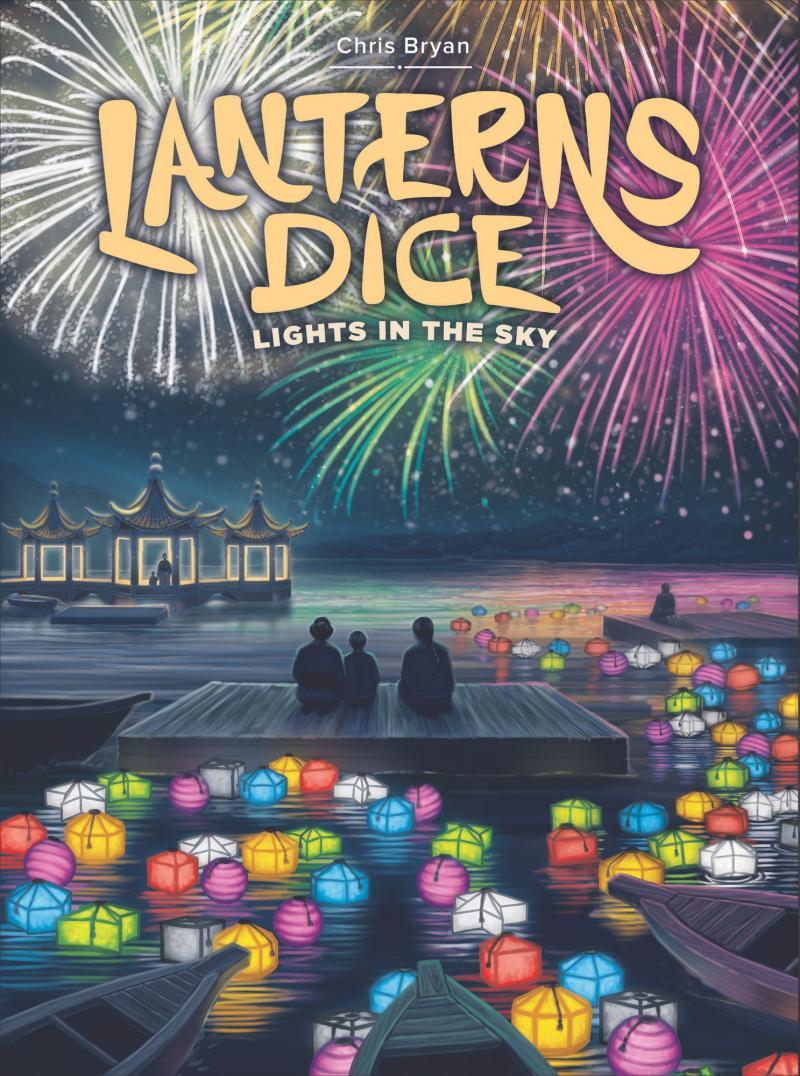 настольная игра Lanterns Dice: Lights in the Sky Фонари Кости: огни в небе