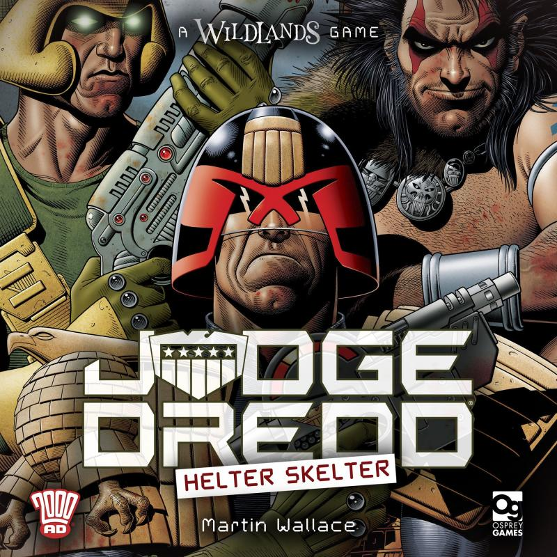 настольная игра Judge Dredd: Helter Skelter Судья Дредд: Хелтер Скелтер