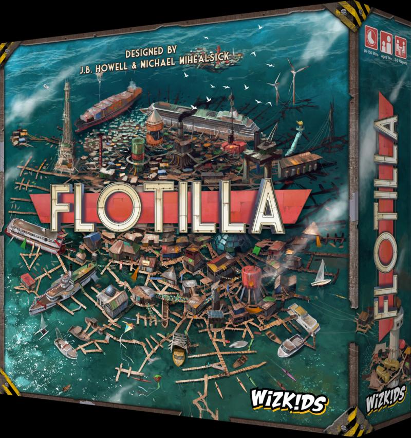 настольная игра Flotilla Флотилия