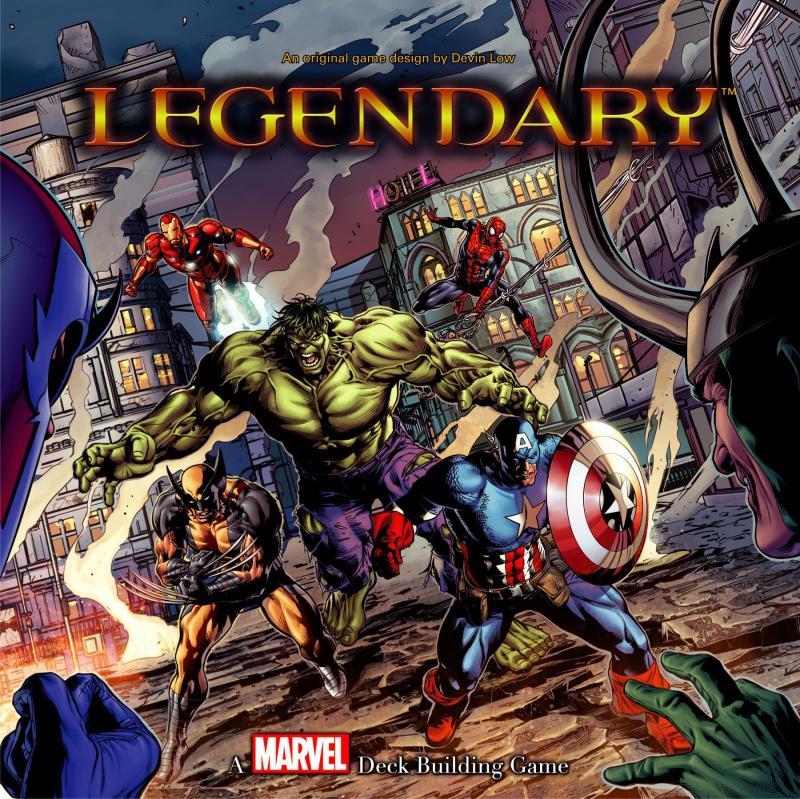 настольная игра Legendary: A Marvel Deck Building Game Legendary: игра по созданию колоды Marvel