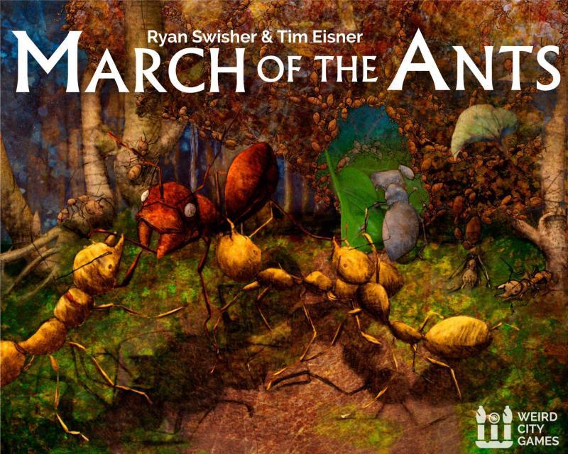 настольная игра March of the Ants Марш Муравьев