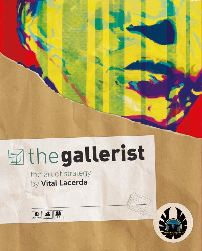 настольная игра The Gallerist Галерист
