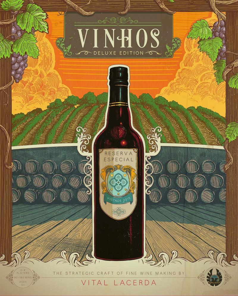 настольная игра Vinhos Deluxe Edition Вина Deluxe Edition