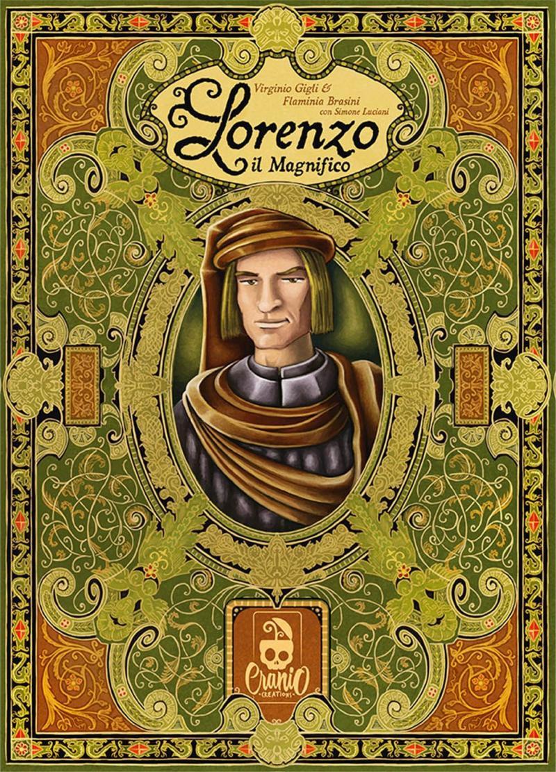 настольная игра Lorenzo il Magnifico Лоренцо Великолепный