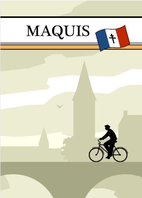 настольная игра Maquis Маки