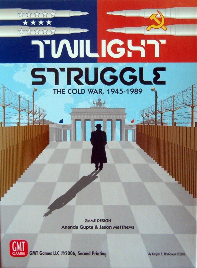 настольная игра Twilight Struggle Сумеречная борьба