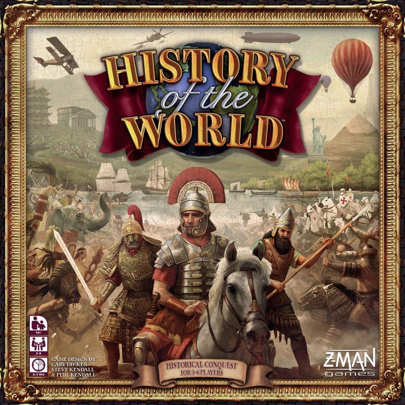 настольная игра History of the World История мира