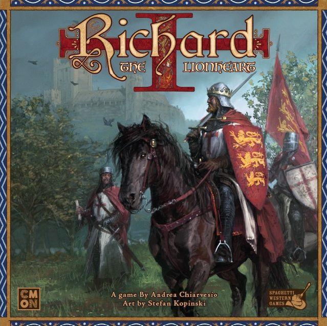 настольная игра Richard the Lionheart Ричард Львиное Сердце