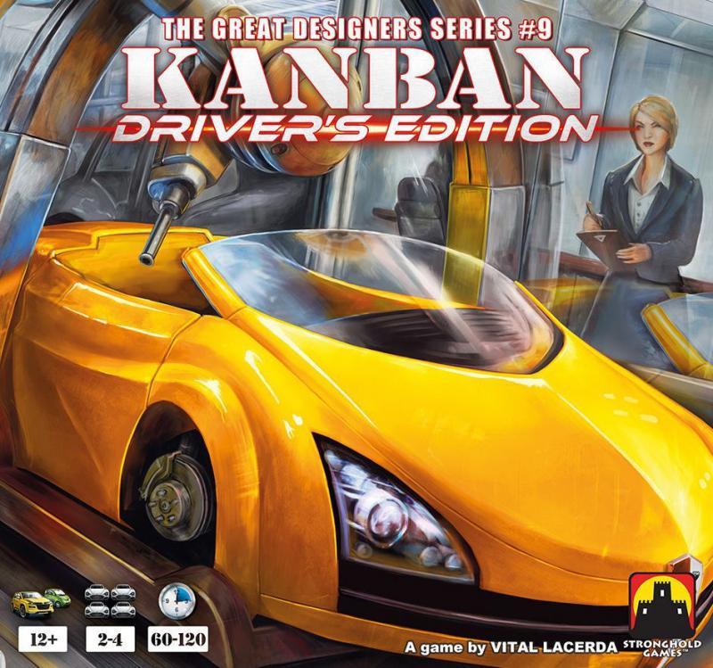 настольная игра Kanban: Driver's Edition Канбан: Водительское издание