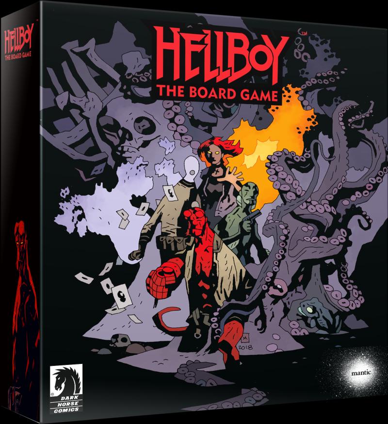 настольная игра Hellboy: The Board Game Хеллбой: настольная игра