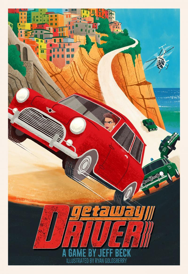 настольная игра Getaway Driver Бегство Водитель