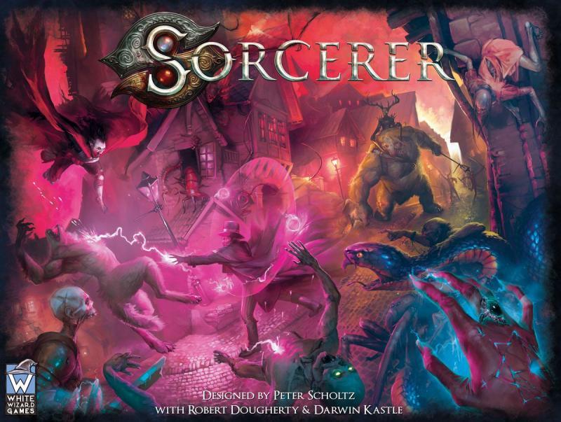 настольная игра Sorcerer Колдун