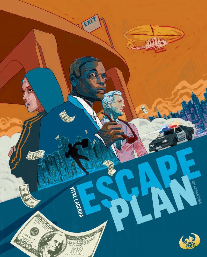 настольная игра Escape Plan План побега