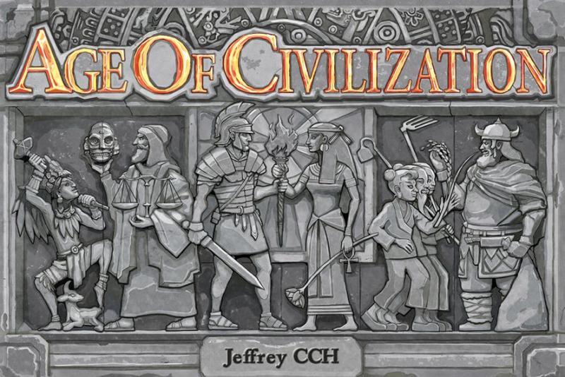 настольная игра Age of Civilization Возраст цивилизации