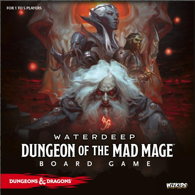 настольная игра Dungeons & Dragons: Waterdeep – Dungeon of the Mad Mage Dungeons & Dragons: Waterdeep - Темница Безумного Мага