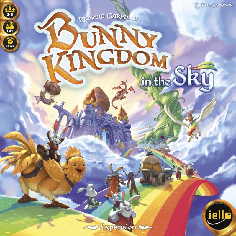настольная игра Bunny Kingdom: In the Sky Кролик королевство: в небе