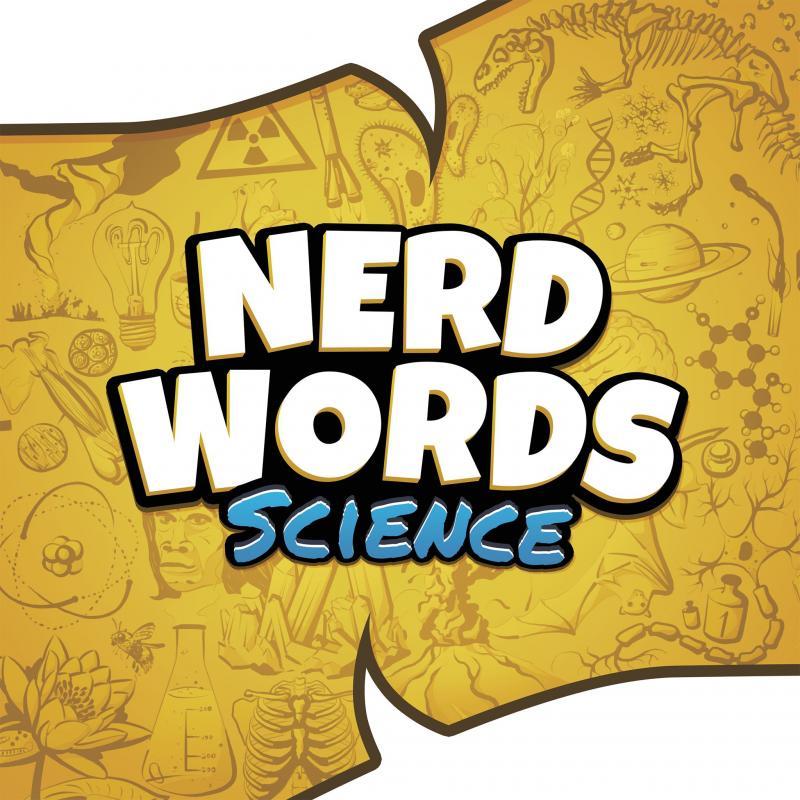 настольная игра Nerd Words: Science! Ботан Слова: Наука!