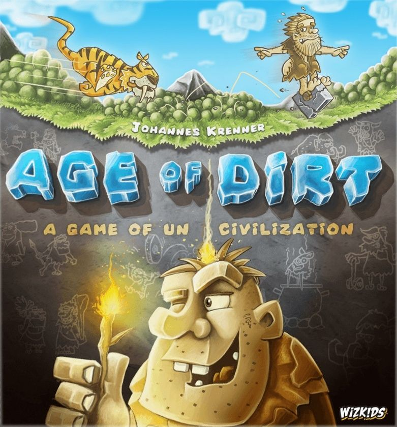 настольная игра Age of Dirt: A Game of Uncivilization Возраст грязи: игра нецивилизации