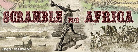 настольная игра Scramble for Africa Борьба за Африку
