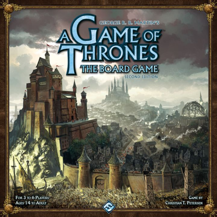 настольная игра A Game of Thrones: The Board Game (Second Edition) Игра престолов: настольная игра (второе издание)