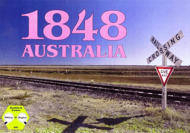 настольная игра 1848: Australia 1848: Австралия