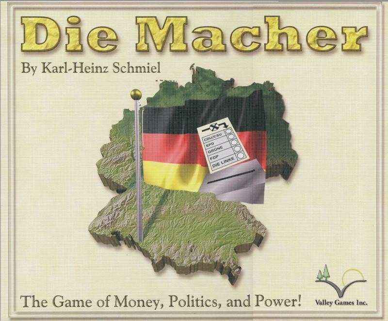 настольная игра Die Macher Производители