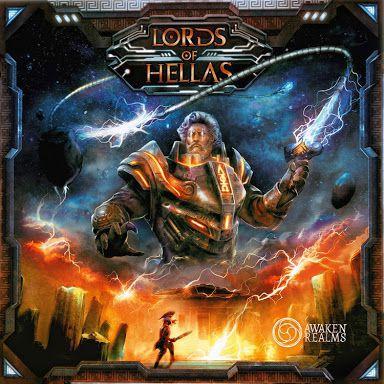настольная игра Lords of Hellas Лорды Эллады