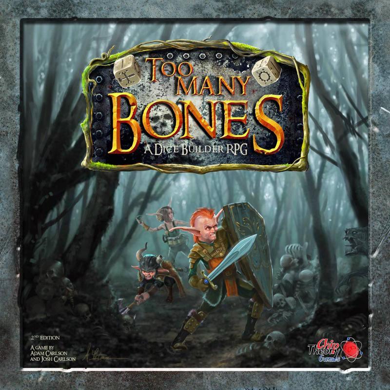 настольная игра Too Many Bones Слишком много костей