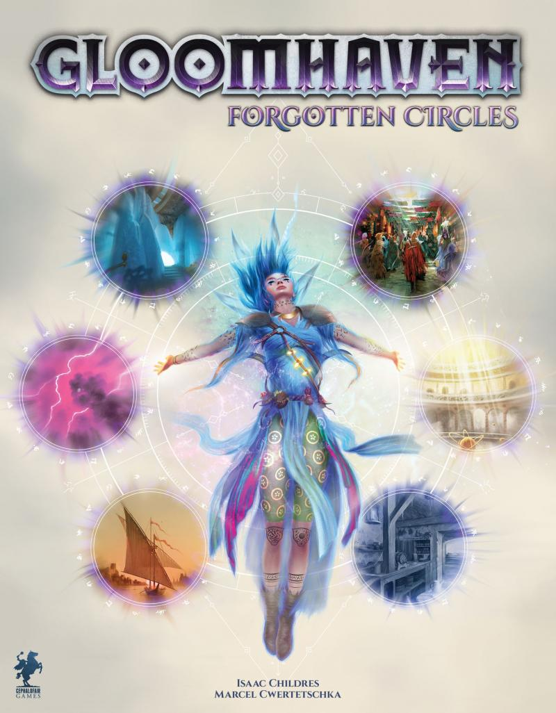 настольная игра Gloomhaven: Forgotten Circles Мрачный Гавань: забытые круги