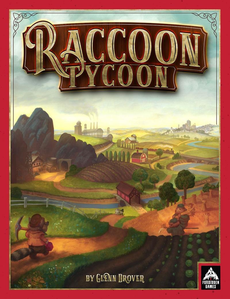 настольная игра Raccoon Tycoon Енот магнат