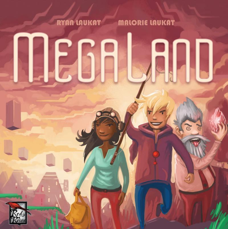 настольная игра Megaland Мега-Айленд