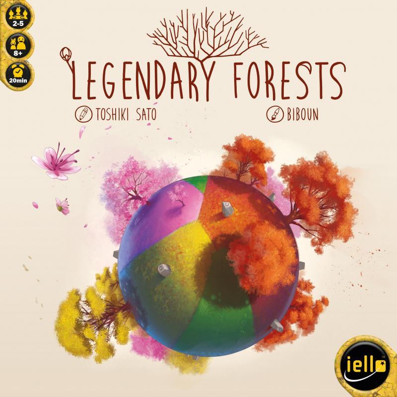 настольная игра Legendary Forests Легендарные Леса