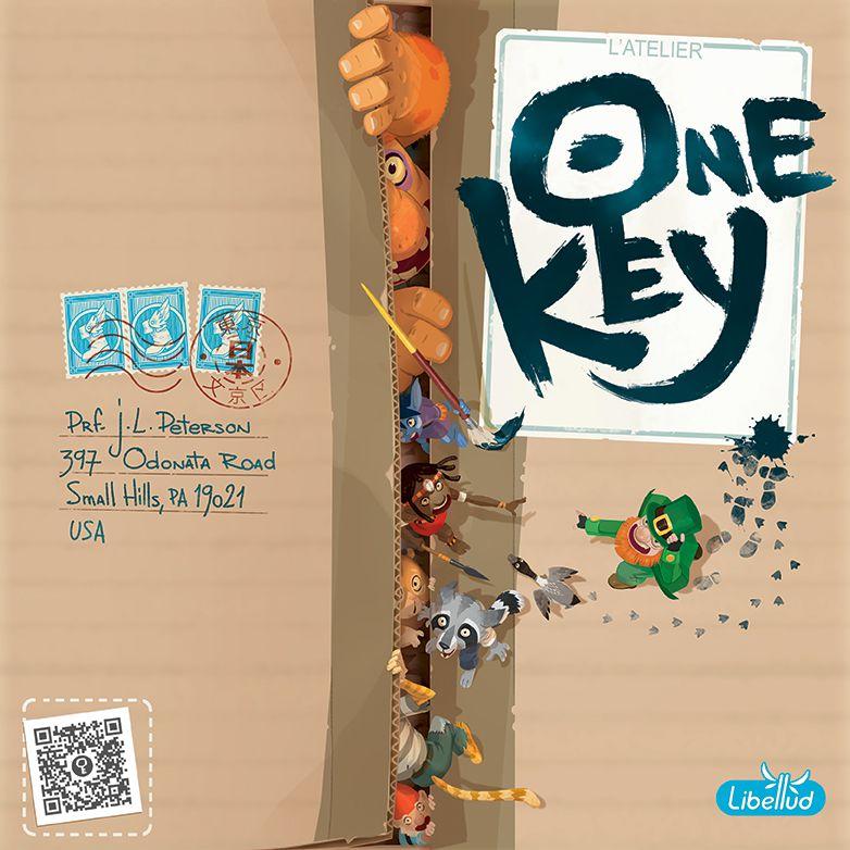 настольная игра One Key Один ключ