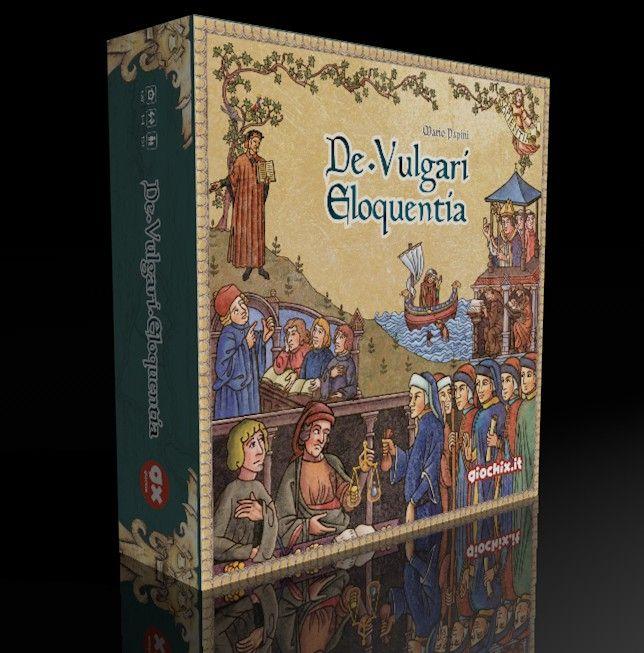 настольная игра De Vulgari Eloquentia: Deluxe Edition Vulgari Eloquentia: Deluxe Edition