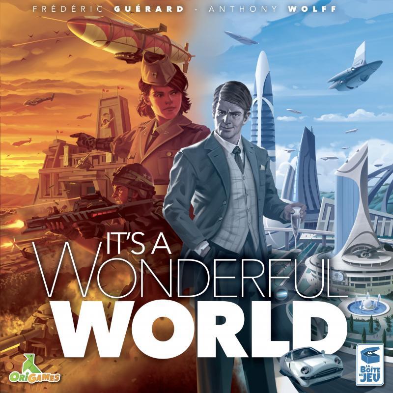 настольная игра It's a Wonderful World Это чудесный мир