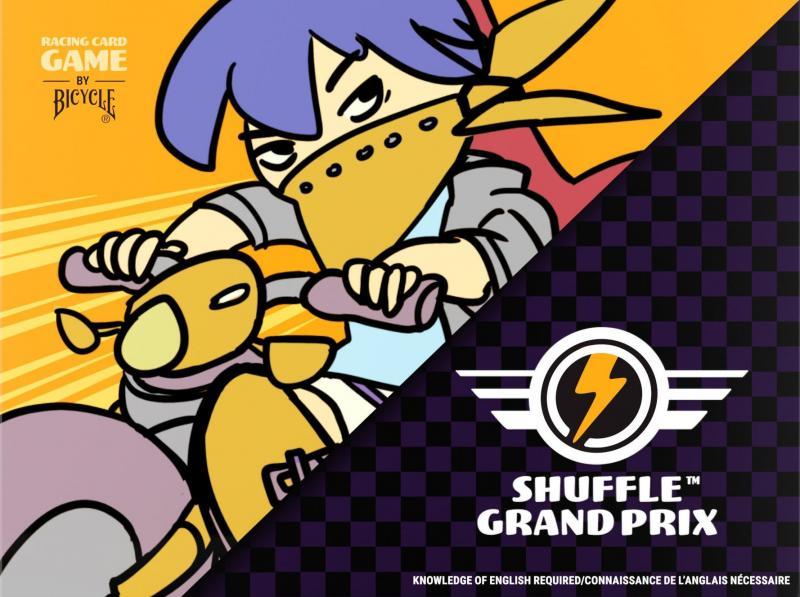 настольная игра Shuffle Grand Prix Случайный Гран При