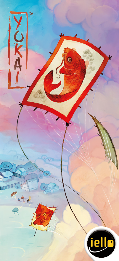 настольная игра Kanagawa: Yokai Канагава: Йокай