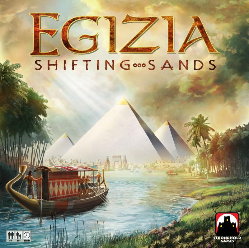настольная игра Egizia: Shifting Sands