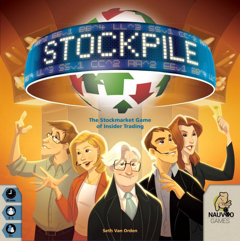 настольная игра Stockpile Штабель