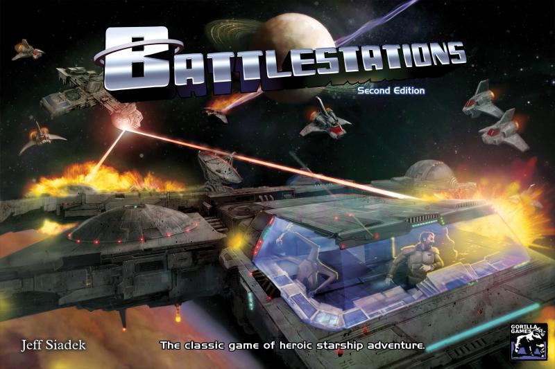настольная игра Battlestations: Second Edition Battlestations: Второе издание